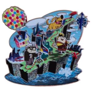 Paradise Falls - Disney Pixar UP Booster Pin Set pin