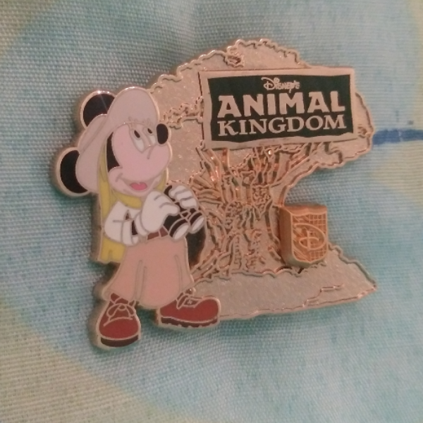 Animal Kingdom Minnie Mouse Annual Passholder Pin pin