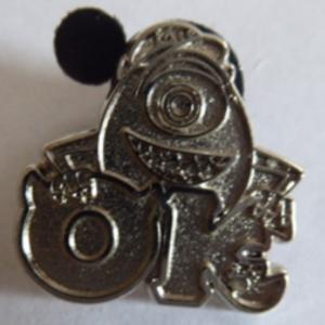 Mike - Monster University Greek Letters (Chaser) pin