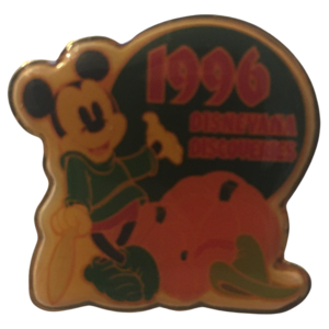 1996 Disneyana Discoveries - Brave Little Tailor pin