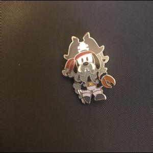 Goofy as Davy Jones pin
