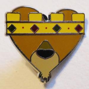 Prince John - Be My Villaintines pin