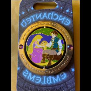 Enchanted Emblem - Rapunzel pin