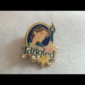 Flynn Rider Disney Tangled Rapunzel Tower pin