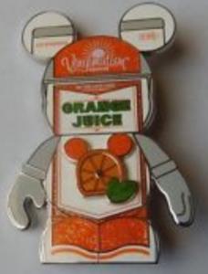 Orange Juice - Jumbo Vinylmation Urban 7 pin