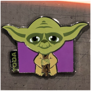 Yoda cutie booster pin