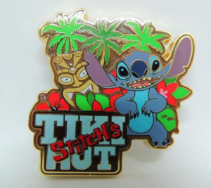 Stitch's Tiki Hut Artland pin