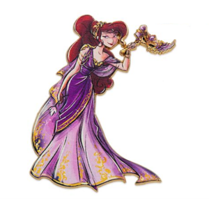 Megara Designer Masquerade  pin