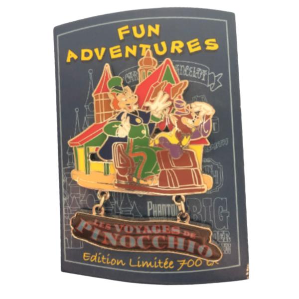 pin Honest John and Gideon - Fun Adventures