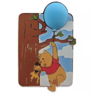Winnie the Pooh - hand in tree with honey pin