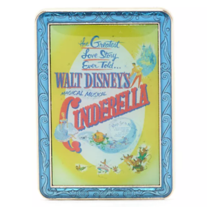 Cinderella - Disney Store Disney Classics Film Poster Mystery Pin pin