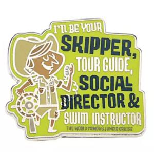 Skipper - Jungle Cruise Booster Pin Set pin
