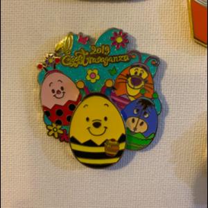 2019 eggstravganza pin