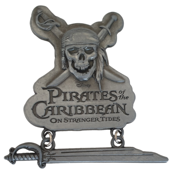 Pirates of the Caribbean On Stranger Tides logo pin