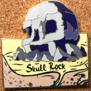 Skull Rock - Neverland Map Mystery Set pin