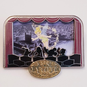 Artist Choice - Tinker Bell in Movie Theater - Disney Cruise Line pin