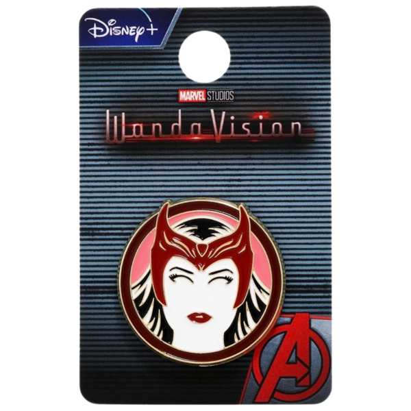 Scarlet Witch vector silhouette - WandaVision - Boxlunch pin