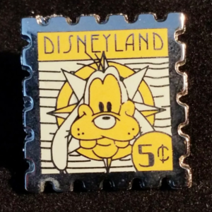 DLR - 2008 Hotel Hidden Mickey Stamp Collection - Goofy 5 Cent Stamp pin