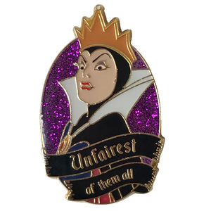 Loungefly - Snow White Evil Queen Unfairest Enamel Pin pin
