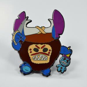 StitchxKakamora Fantasy Pin pin