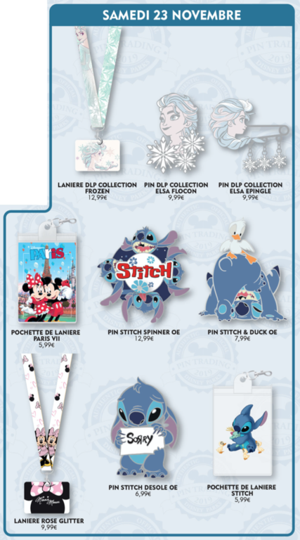 November 23rd pin releases