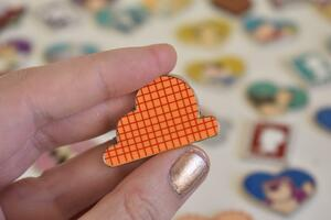 Toy Story Cloud Pin - Woody pin