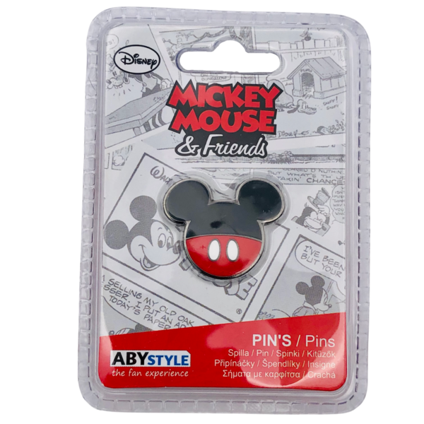 Of course we had to get this Mickey pin!