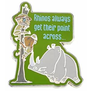 Rhino - Jungle Cruise Booster Pin Set pin