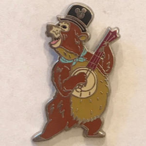 Hidden Mickey 2019 (C) - Country Bears: Wendell (1/6) pin