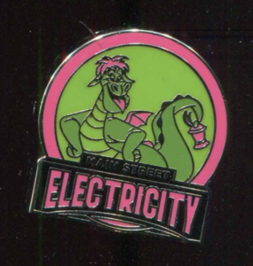 Disney World Mascots: Main Street Electricity  pin