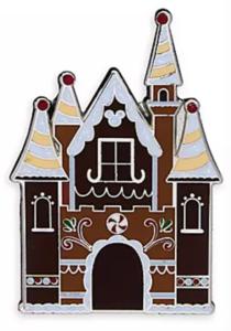 Gingerbread Castle pin