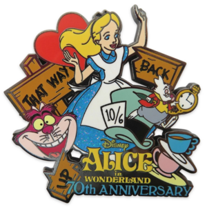 Alice in Wonderland - 70th Anniversary - Legacy Collection pin