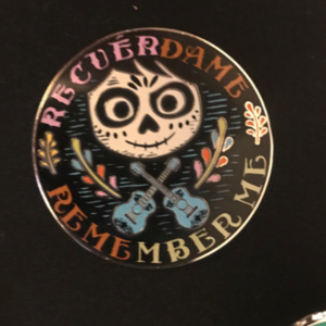 Miguel Rivera Remember Me pin
