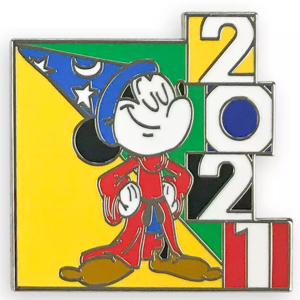 Sorcerer Mickey - Mickey Mouse and Friends Mystery Pin Set 2021 pin