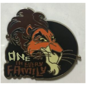 Scar - One in Every Family pin