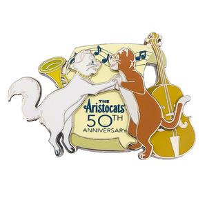 The Aristocats 50th Anniversary Duchess and Thomas dancing pin