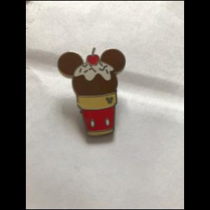 Hidden Mickey Frozen Treat Mickey pin