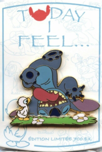 Today I Feel...Playful - Stitch pin