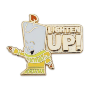 Lumiere Lighten Up - Disney Store Duos pin
