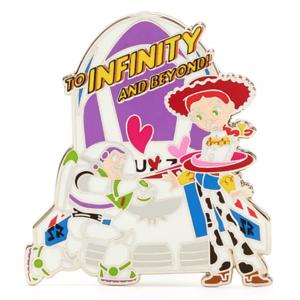 Buzz and Jessie - Disney Store Pixar Pals Disney Duos Valentine's Mystery pin
