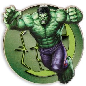 Incredible Hulk - Marvel - logo pin pin