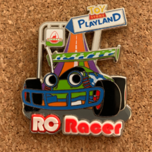 RC Racer - Toy Story Playland pin