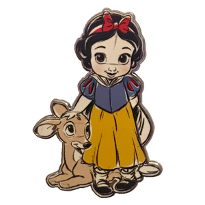 DLP - Disney Animators Collection - Snow White with Fawn pin