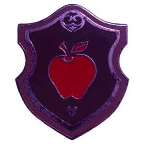 WDW - 2018 Hidden Mickey: Wave B - Princess Emblem Crest - Snow White's Apple (3 of 6) pin