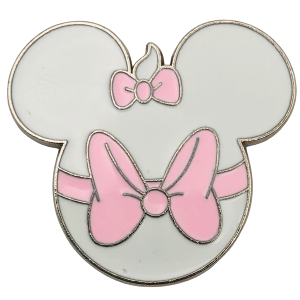 Marie - Mickey Silhouette pin fake