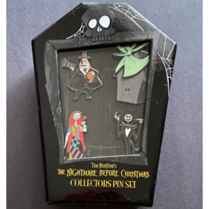 Disney Movie Rewards The Nightmare Before Christmas Collectors Pin Set 2012 pin