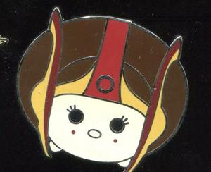 Star Wars - Tsum Tsum Mystery Pin Pack - Series 2 - Queen Padme Amidala pin