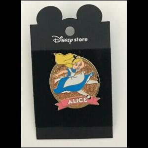 Alice in wonderland JDS Sparkle pin