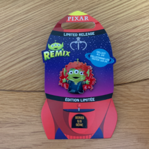 Alien Remix Merida  pin