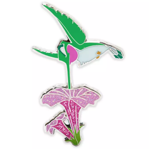 Flit with a flower pin